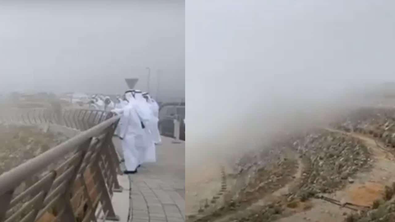 """Emiratos Árabes Unidos Para combatir ola de calor """"siembran"""" nubes para que llueva"""