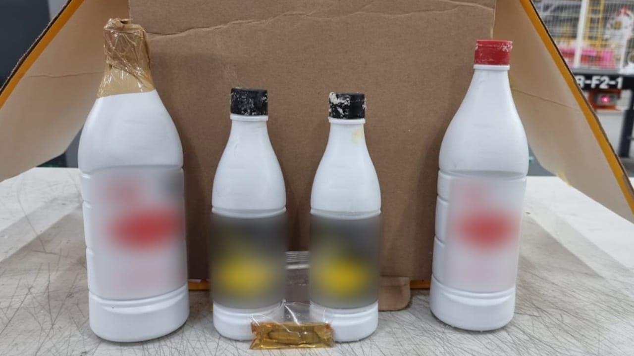 encuentran metanfetamina líquida en Querétaro