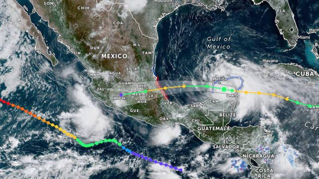 Cómo ver la trayectoria del huracán Grace en tiempo real