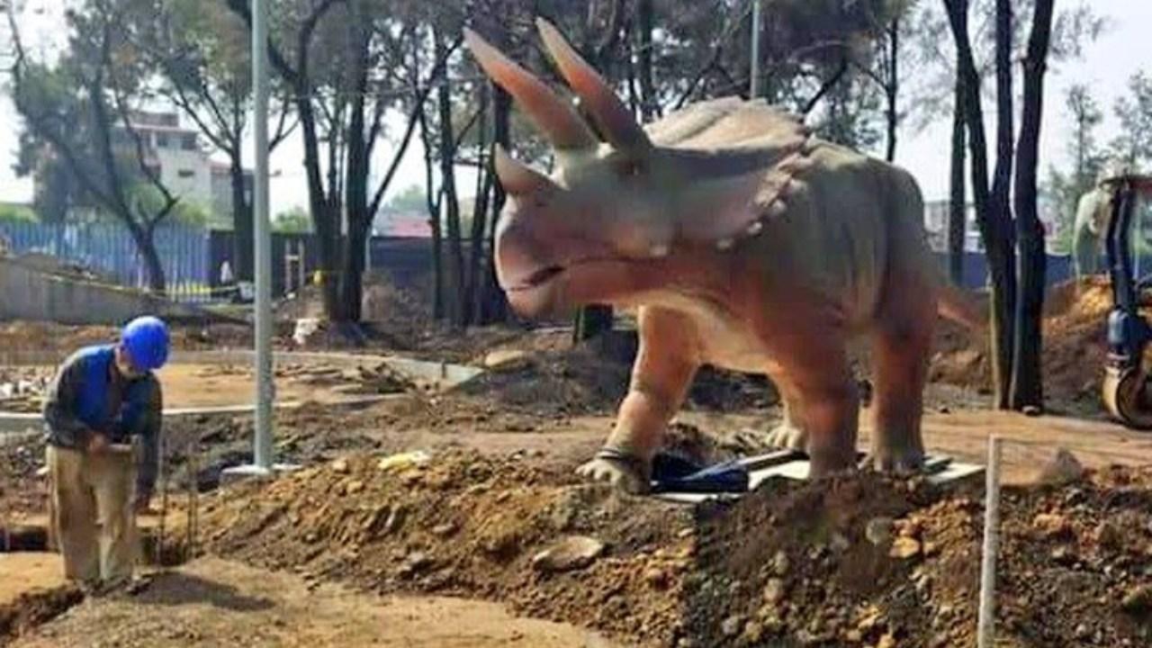 IztapaSauria en CDMX parque jurásico