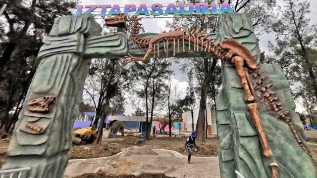 IztapaSauria el parque jurásico de Iztapalapa