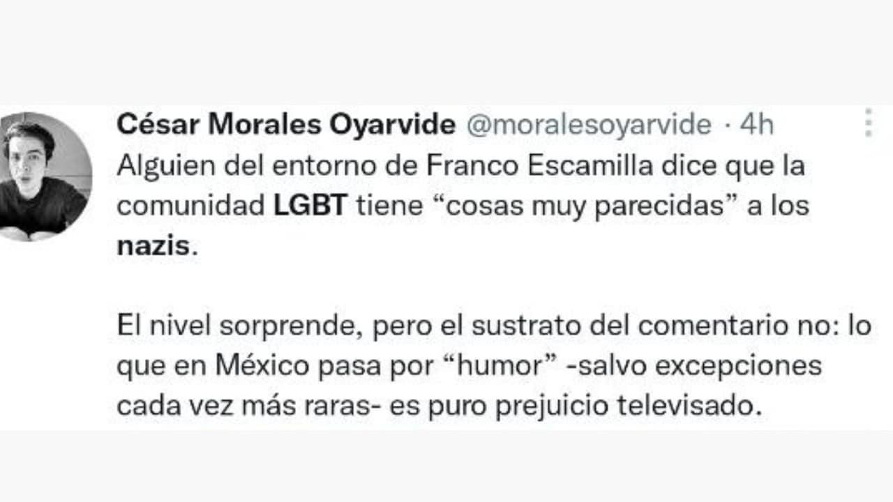 presentadora crea polémica por comparar a la comunidad LGBT con los nazis