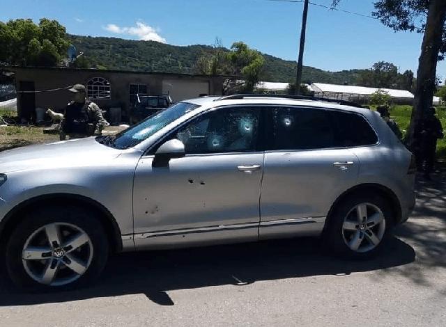 Dos policías asesinados en atentado contra la Alcaldesa de Pilcaya, Guerrero