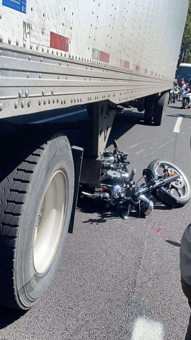 Así fue el trágico accidente en la México-Cuernavaca