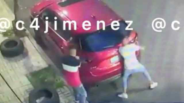 Ladrones Roban Autopartes Alcaldía Cuauhtémoc CDMX