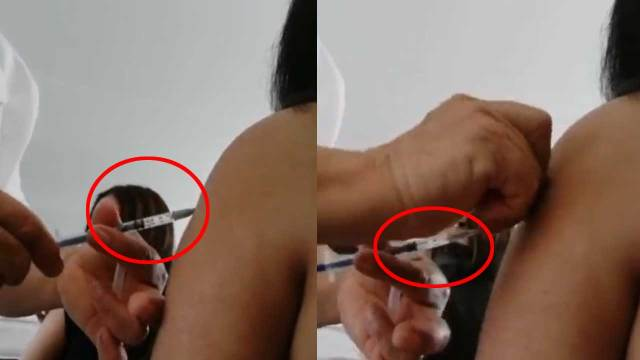 Enferma simula aplicación de vacuna contra covid en Michoacán