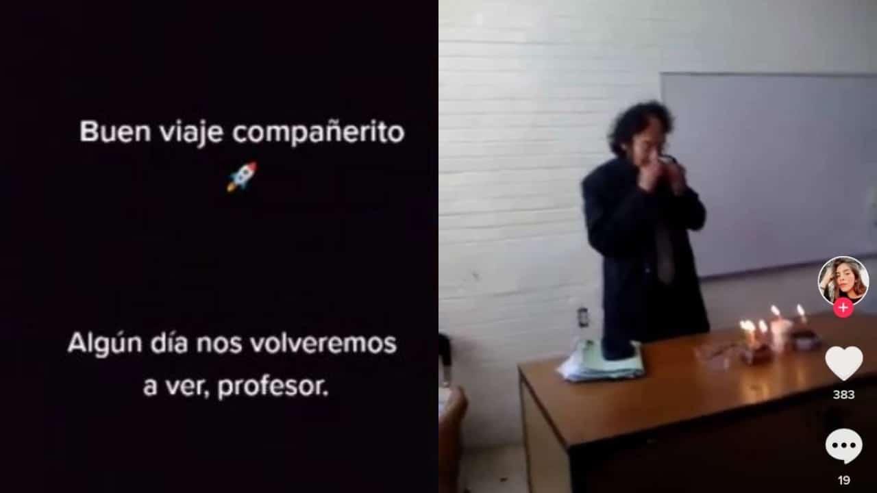 Alumnos de docente fallecido por Covid-19 piden al Club Santos un homenaje para él