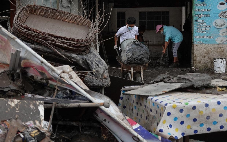 Grupo armado mata a cuatro que pepenaban escombros de inundación en Tula