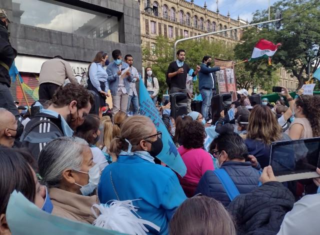 VIDEO. Grupos Provida protestan en SCJN por despenalización del aborto