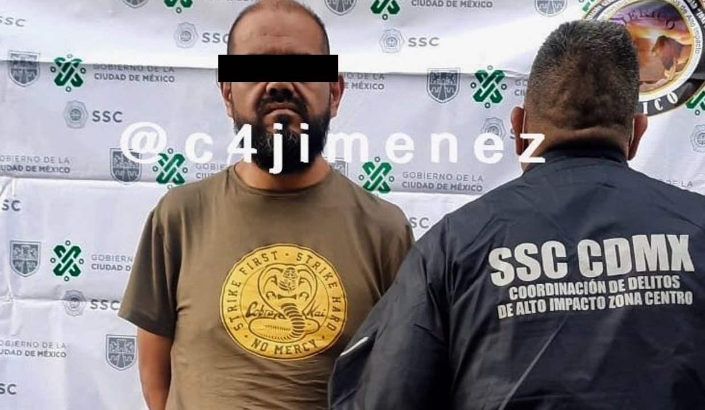 """""""Atravesaba"""" paredes para robar negocios en Centro de Ciudad de México"""