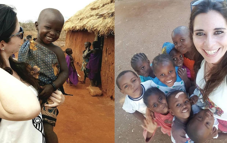 Marta Oreja, la voluntaria que fue a Africa a salvar niños y ahora la acusan de abuso infantil