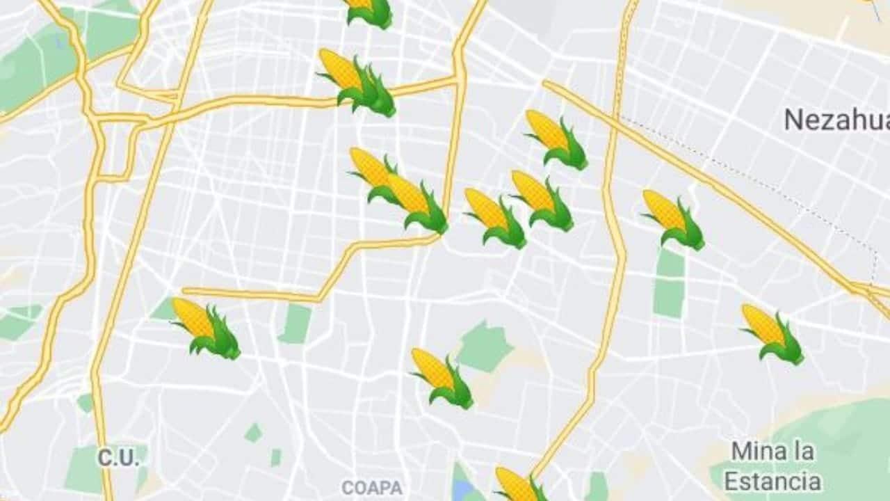 Mapa más completo de comida en CMX