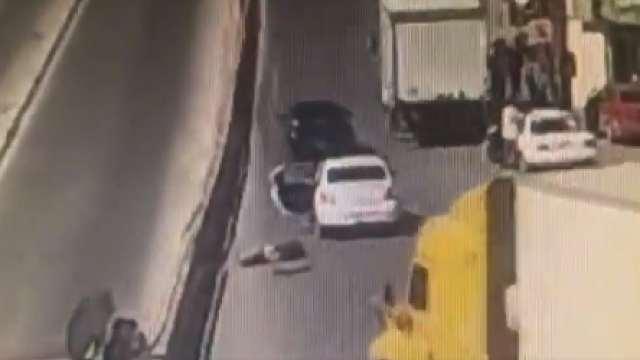 Video mujer escapó de un secuestro