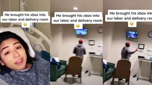 Hombre jugó videojuegos durante labor parto de su esposa