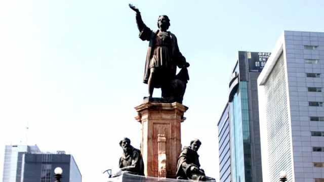 Estatua de Cristóbal Colón será sustituida por la de una mujer indígena