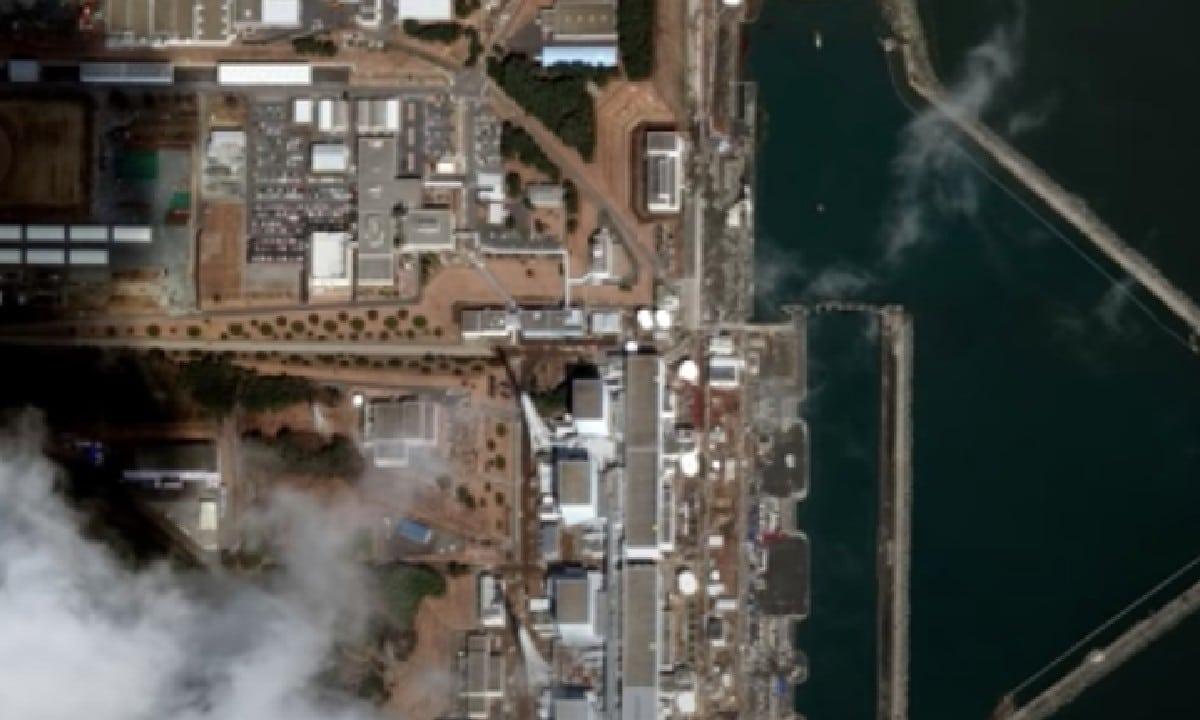 Japón Túnel Submarino Agua Radioactiva Océano Pacífico