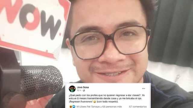 Locutor de Yucatán Dice a Maestros Regresen Huevones