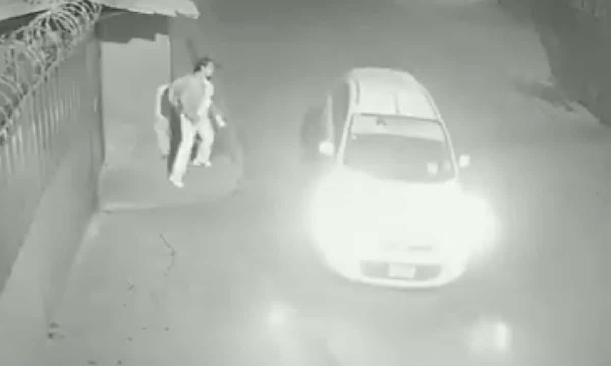 Graban Taxista Intentó Secuestrar Mujer Edomex Video