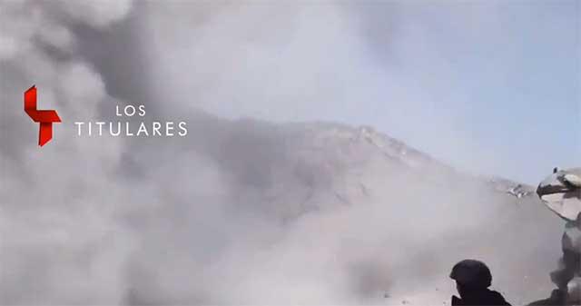 Video crater Popocatepetl Yavhe te amo