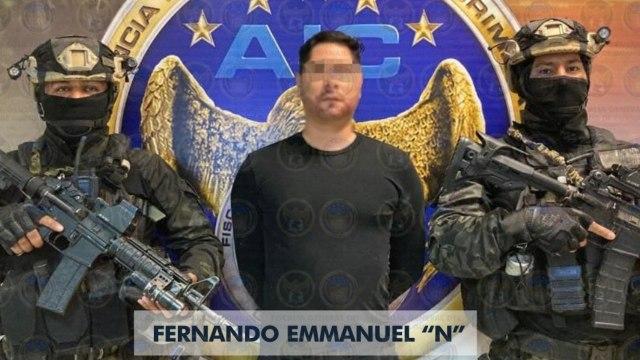 Capturan a 'El Panther' presunto líder del Cártel de Santa Rosa de Lima