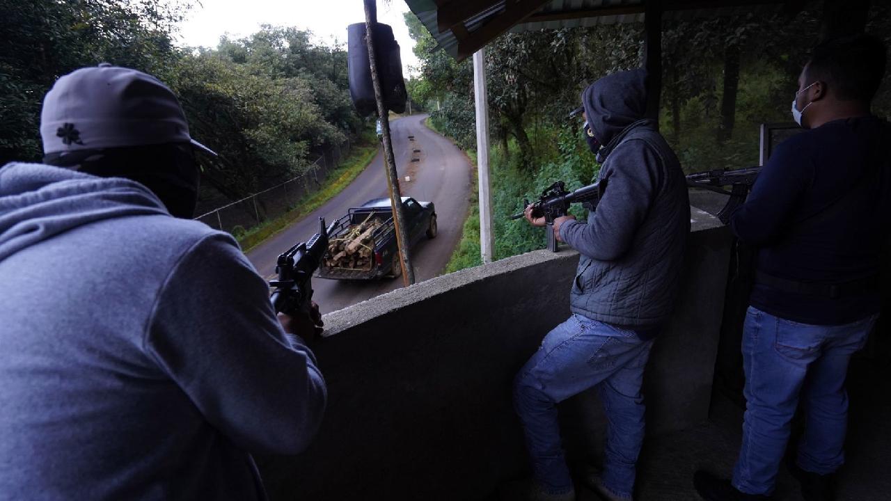 12 cárteles operando en Michoacán.