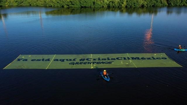 Greenpeace protesta contra refinería Dos Bocas