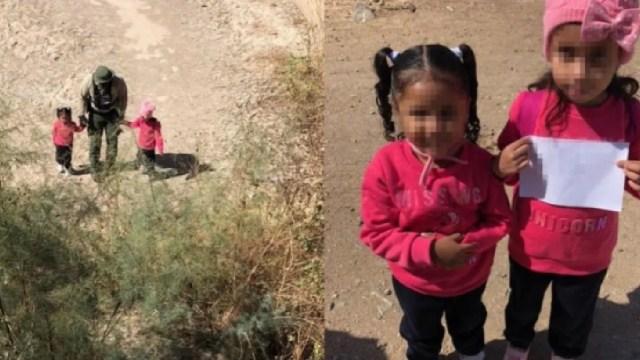 Menores abandonadas frontera Estados Unidos