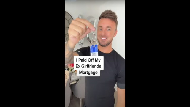 Joven paga hipoteca de su ex novia