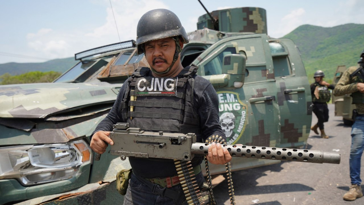 """México y EU aplican """"Código Negro"""" contra el CJNG; buscan desarticularlo"""