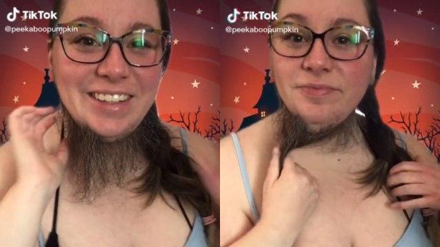 Mujer con barba abre Onlyfans y enamora a los hombres con su vello facial