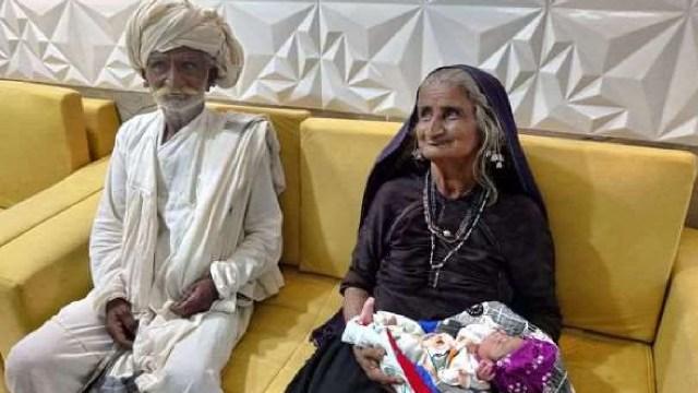 Mujer de 70 años es madre primeriza