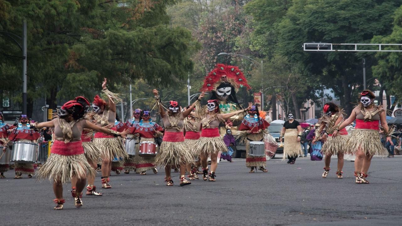 Regresa el mega desfile de día de muertos en la CDMX