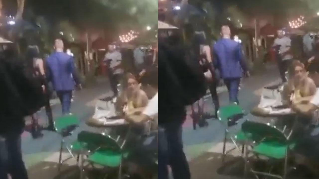 Alcalde pide deportación de holandés que paseó a mujer en lencería