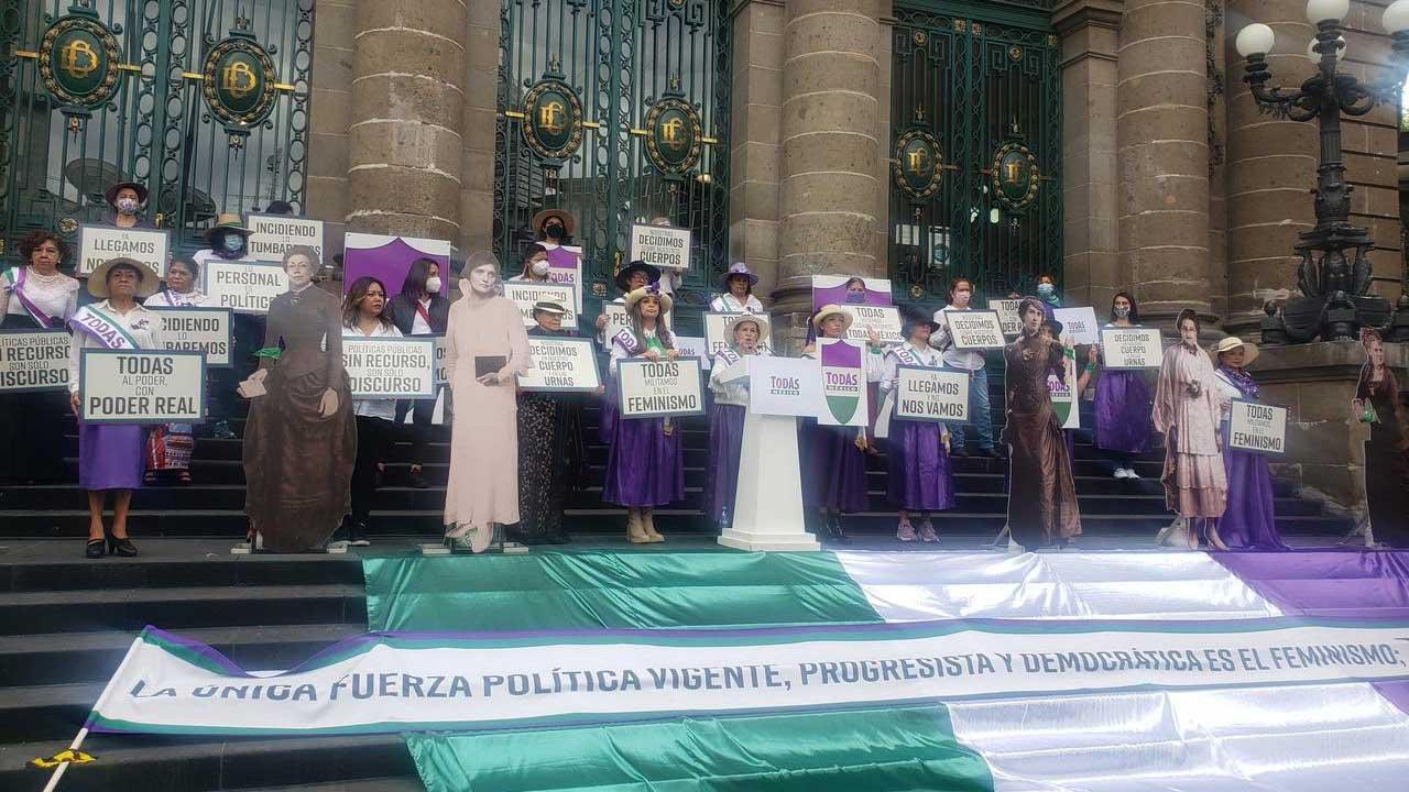 Todas Mexico fuerza política de las feministas mexicanas