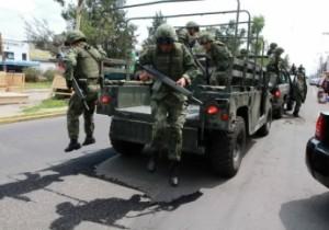 Ejército montó retenes para localizarlos