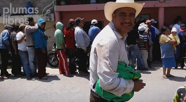Imagenes del video que presentó el PRD para sustentar la denuncia contra Noemí Guzmán
