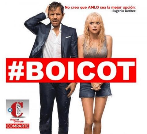 Resultado de imagen para Seguidores de AMLO llaman a boicotear película de Eugenio Derbez.