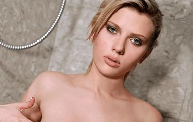 Johansson porno scarlett Scarlett Johansson
