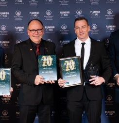 The Future of the Plumbing and Gas Industry Celebrated as Apprentices Take Home Awards