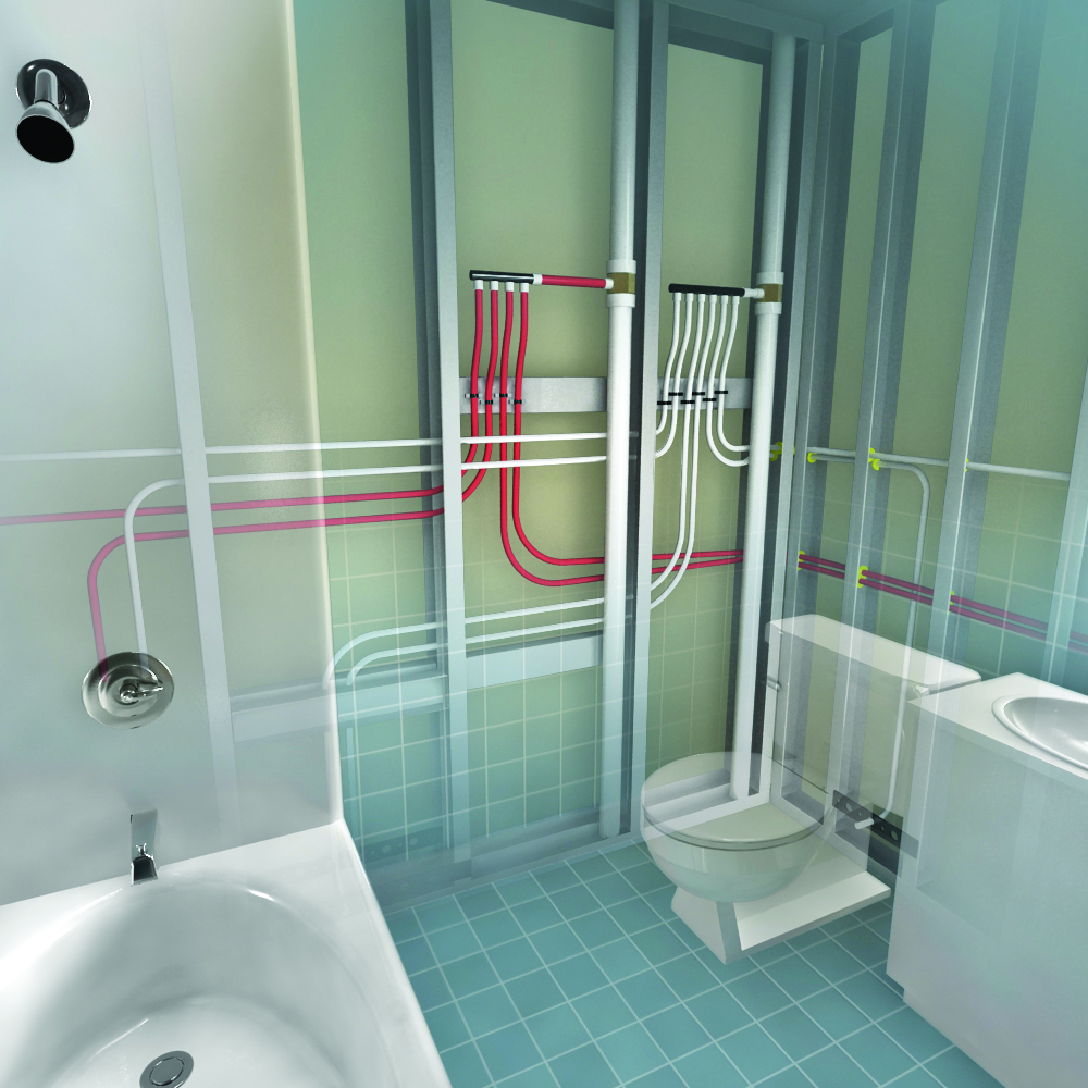 hight resolution of why logic plumbing beats home run and trunk and branch plumbing perspective news product reviews videos and resources for today s contractors