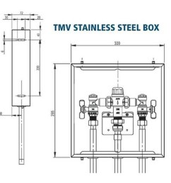 avg thermostatic mixing valve in stainless box tmv15 pib 15mm  [ 960 x 960 Pixel ]