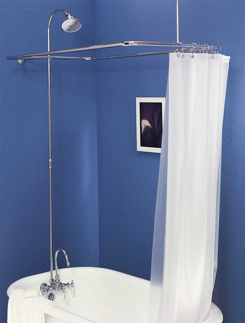 Bathroom Shower Sets Clawfoot Shower Sets