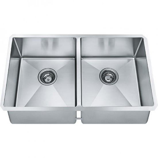 stainless steel undermount kitchen sinks pendant lights above island franke techna sink 31 x 18