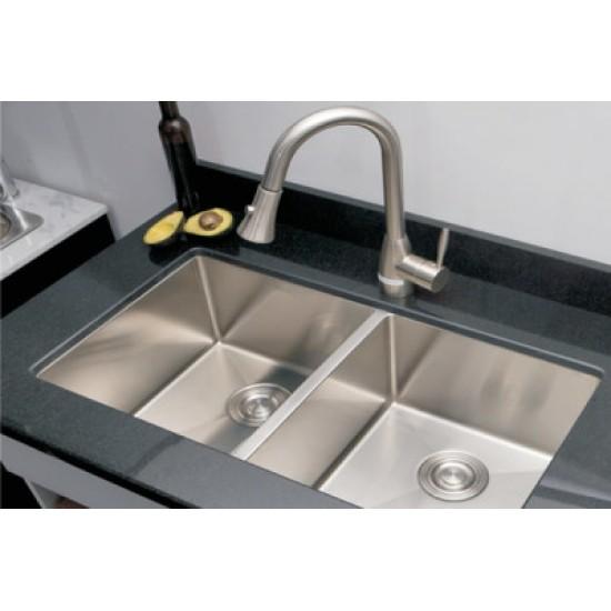 corner kitchen sink long light bosco deluxe series double bowl radius t203325