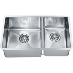 Stainless Steel Undermount Kitchen Sinks Appliances Franke Techna Sink 26 X 18