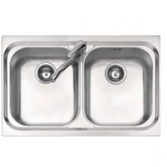Ss Kitchen Sinks Coffee Signs Decor Jollynox Vega Stainless Sink 2 Bowls