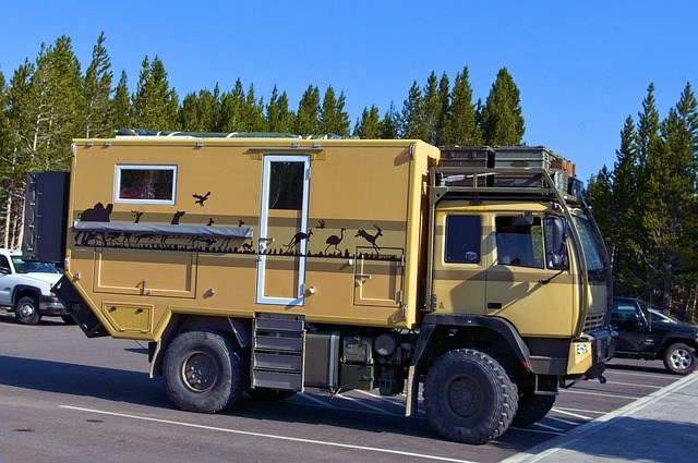 expedition camping van