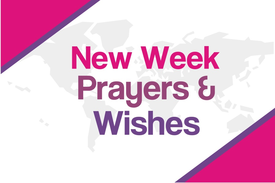 prayer for a new week