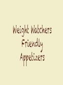 30 Weight Watchers Appetizers Roundup
