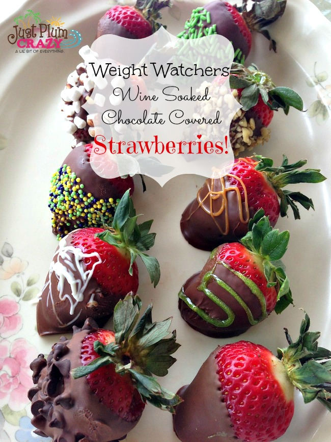 when i think of valentines day i think of wine chocolate strawberries